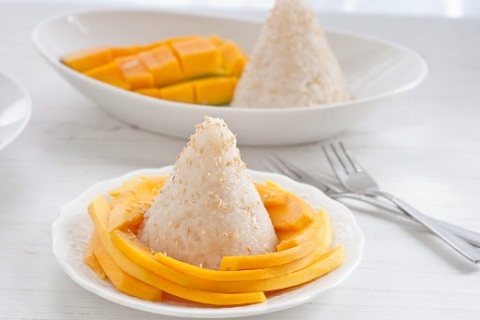 Thai Sticky Rice and Mango