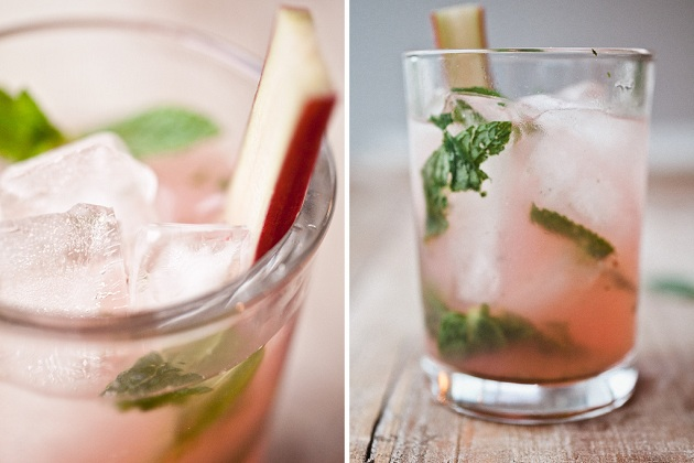 Rhubarb Mojito from Not Without Salt