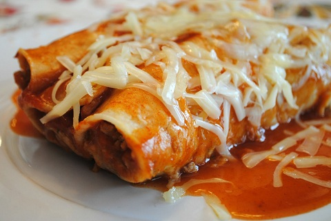 Quick Turkey Enchiladas