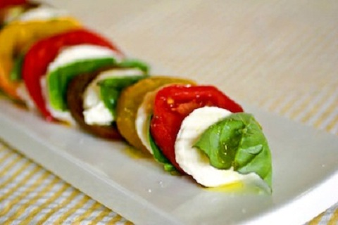 Caprese Salad from The Culinary Life