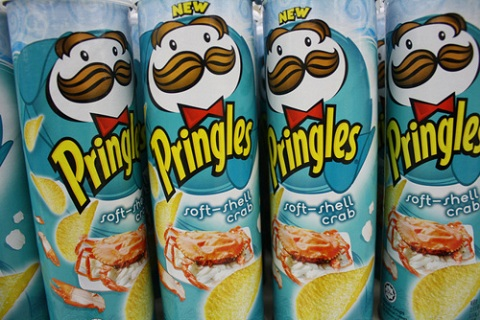 Soft Shelled Crab Pringles