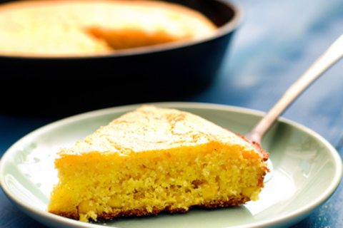Old Fashioned Skillet Cornbread