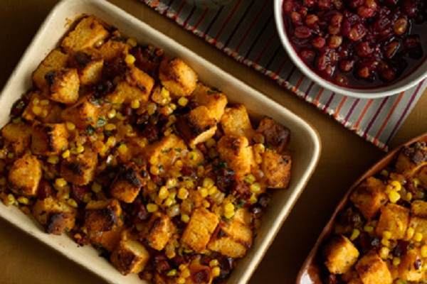 Chorizo Corn Bread Stuffing from Epicurious