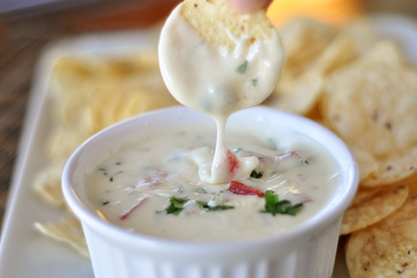 Queso Blanco Dip from Mel's Kitchen Cafe