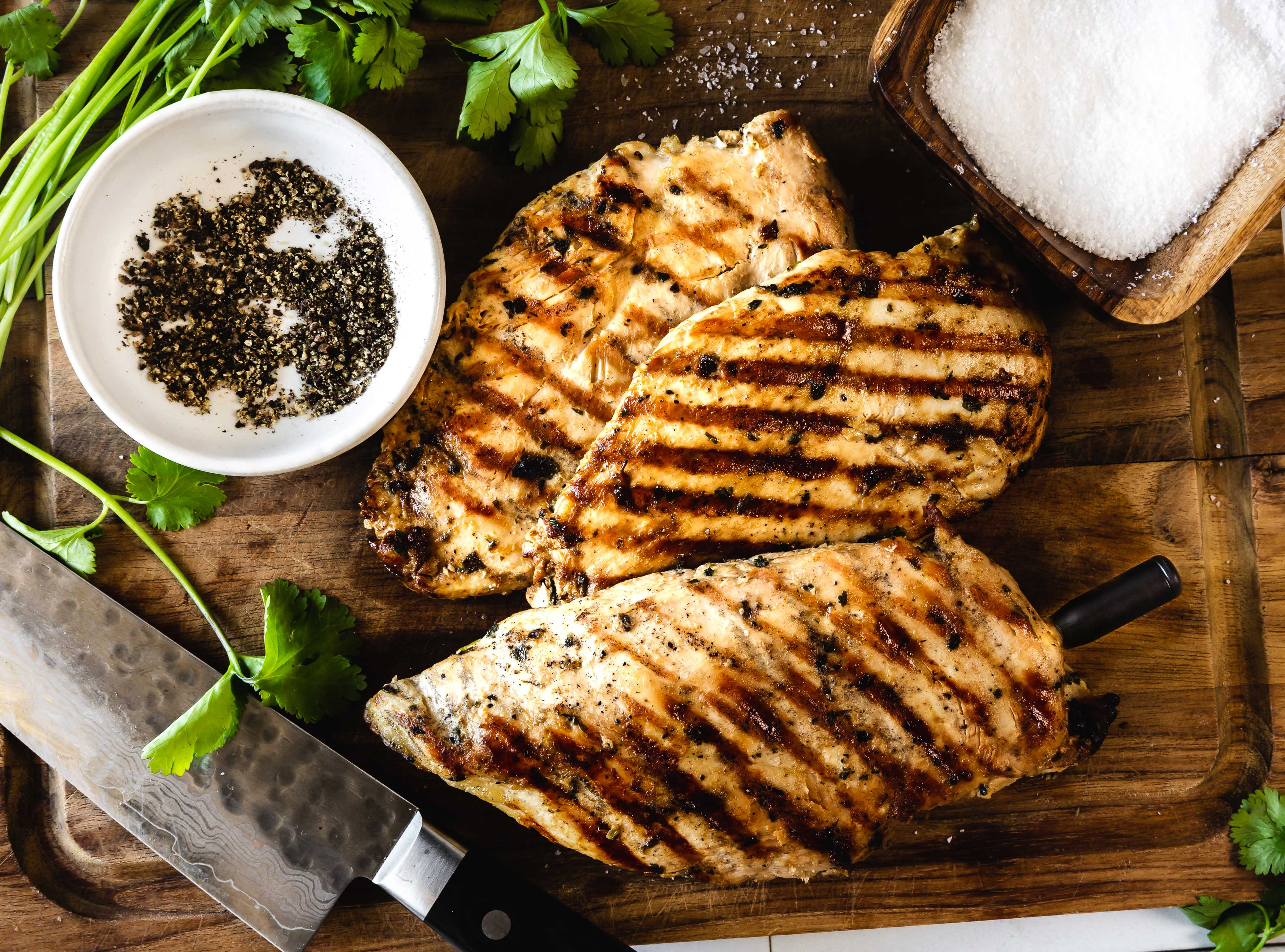 The Secret to Perfectly Grilled Chicken Breasts