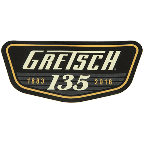 GRETSCH 135TH ANNIVERSARY STICKER