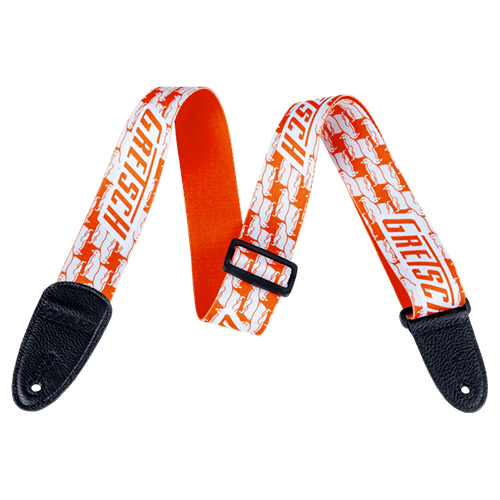 Double Penguin Strap - Orange/White