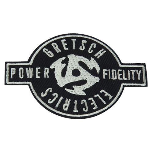 GRETSCH P&F 45RPM PATCH