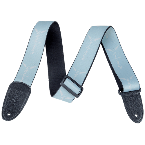 Gretsch Wings Strap - SEAFOAM/WHITE