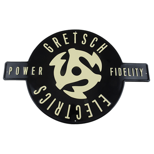 GRETSCH ELECTRICS P&F TIN SIGN