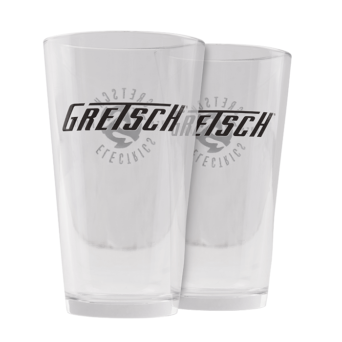 GRETSCH® PINT GLASS SET (2)