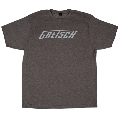 GRETSCH LOGO TEE HEATHER GRAY