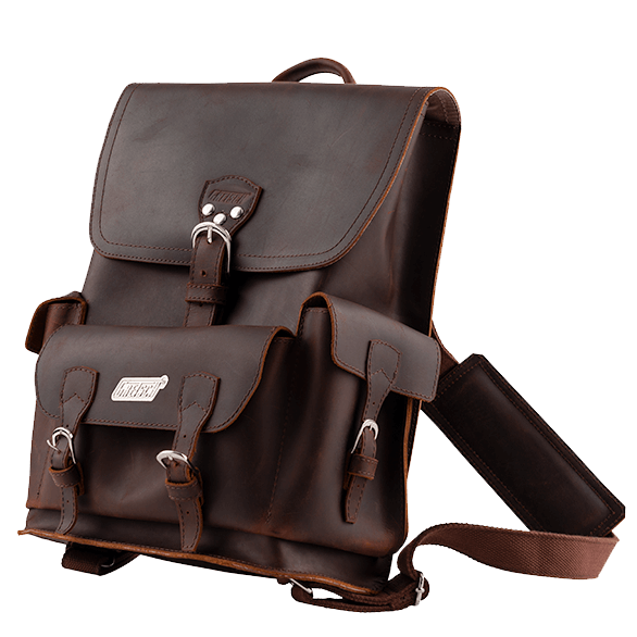 GRETSCH LEATHER BACKPACK