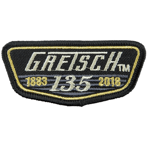 GRETSCH 135th ANNIVERSARY LOGO PATCH