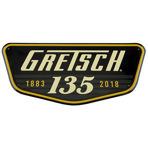 GRETSCH 135th ANNIVERSARY TIN SIGN