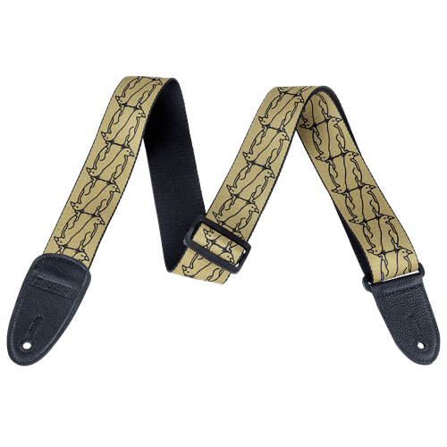 Double Penguin Strap - Gold/Black