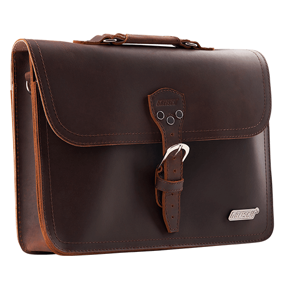 GRETSCH LEATHER LAPTOP BAG