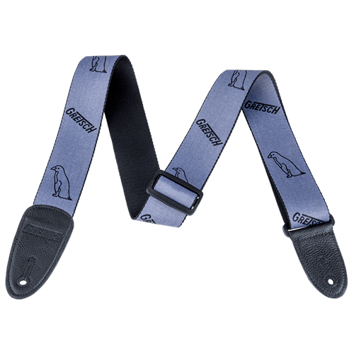 GRETSCH PENGUIN STRAP GRAY/BLACK