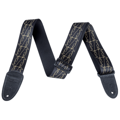 Double Penguin Strap - Black/Gold