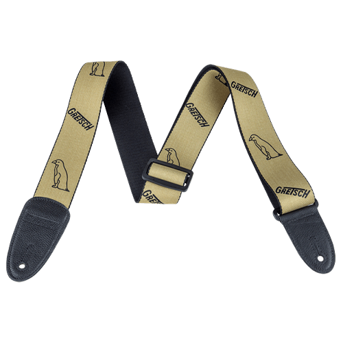 GRETSCH PENGUIN STRAP GOLD/BLACK