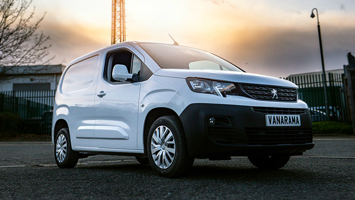 peugeot partner ready for van lease delivery