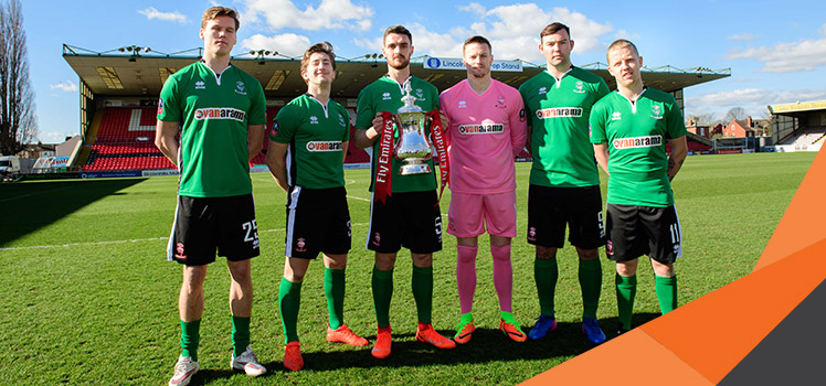 Vanarama extends winning FA Cup kit sponsorship