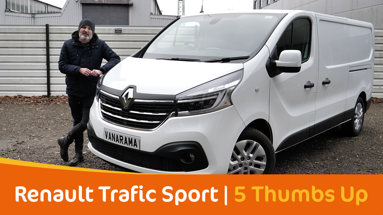 Top 5 Things We Love About The Renault Trafic Sport