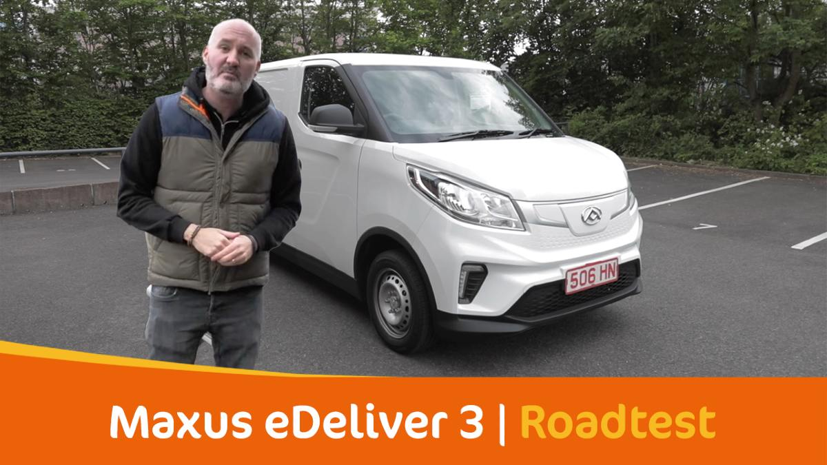 Hands-On With The Maxus E Deliver 3