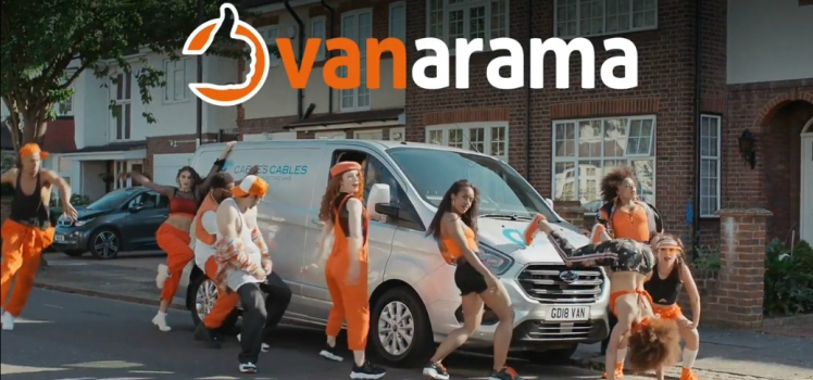 Whatta Vanarama Van! New TV advert makes waves