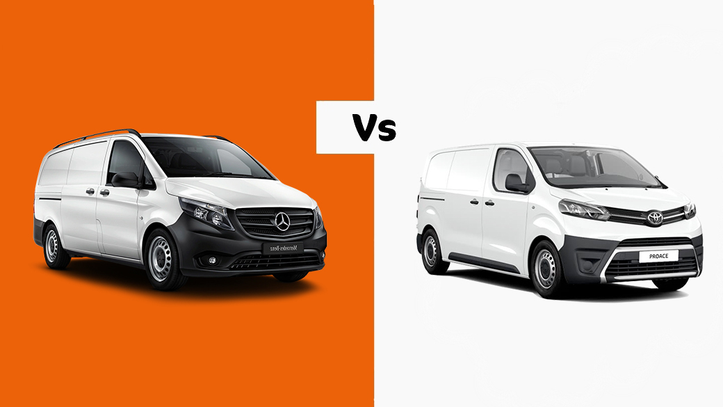 Medium Van Comparison: Toyota Proace vs Mercedes-Benz Vito