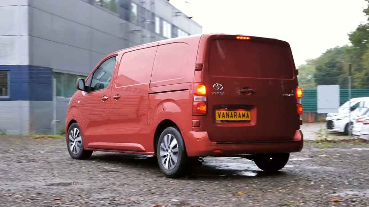 Toyota Proace On The Road