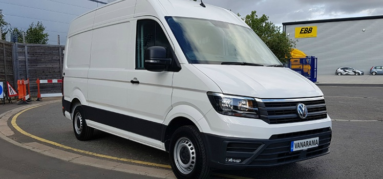 Have you seen the new VW Crafter? It's massive!