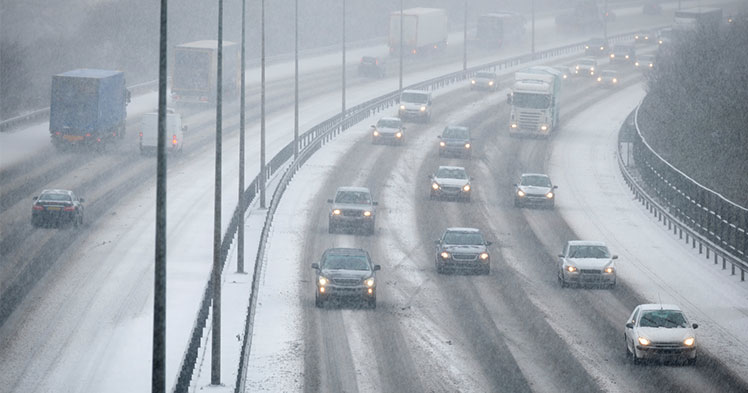 Top 5 winter driving tips