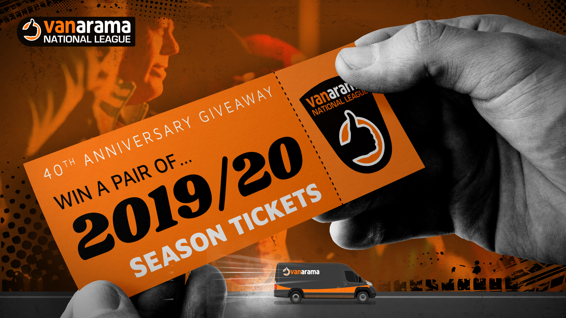 The 40th Anniversary Season Ticket Giveaway