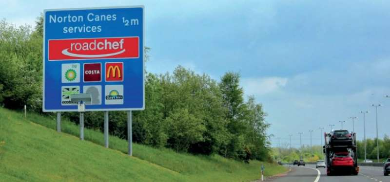 Where are England's BEST and WORST motorway services?
