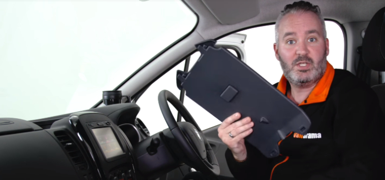 Why we love…the Vauxhall Vivaro's clipboard