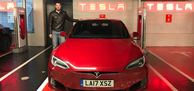 The Vanarama Electric Vehicle Challenge: Tesla Model S