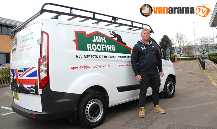 Jim Harrison reaches for the stars with JMH roofing