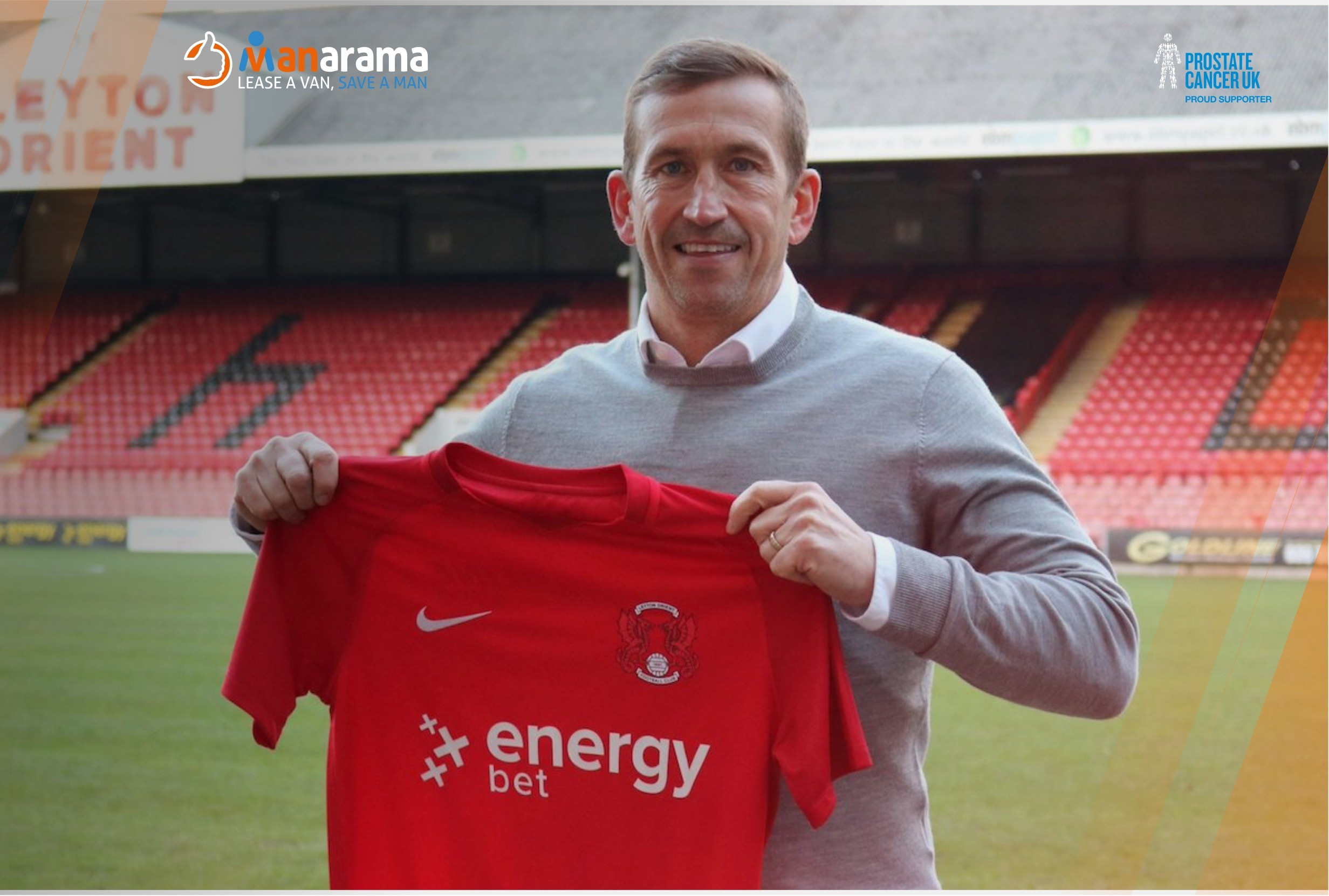 Former Spurs star Justin Edinburgh leading Leyton Orient's promotion push