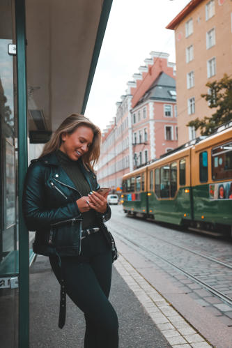 Buying a tram ticket through Whim in Helsinki