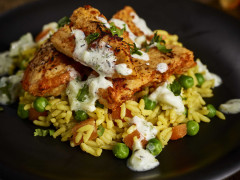Tandoori Fillets & Vegetable Pilau