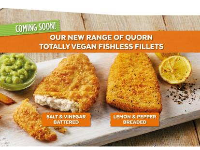 Quorn Launches Vegan Fishless Fillets Range
