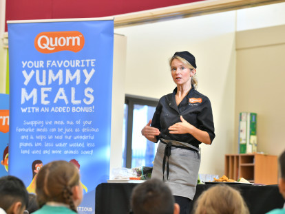 Create Innovative and Inspiring Meat Free School Menus with Quorn