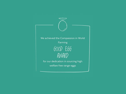 Compassion in World Farming Good Egg Award