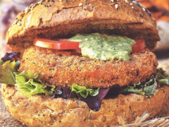 Quorn Vegan Hot & Spicy Burger