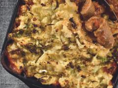 Sausage Colcannon Pie