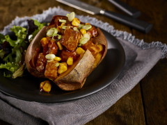 BBQ Sweet Potato