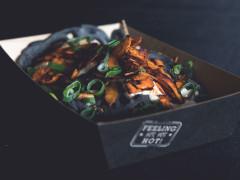 Quorn & Charcoal Okonomiyaki