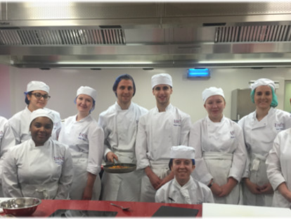 University College Birmingham Students Cook Up A Storm