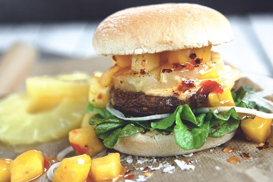 Quorn Vegan Burger